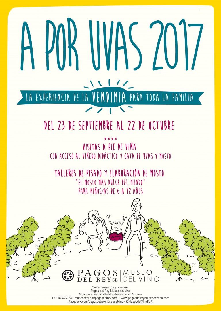 A por Uvas 2017 Programación de vendimias Pagos del Rey Museo del Vino