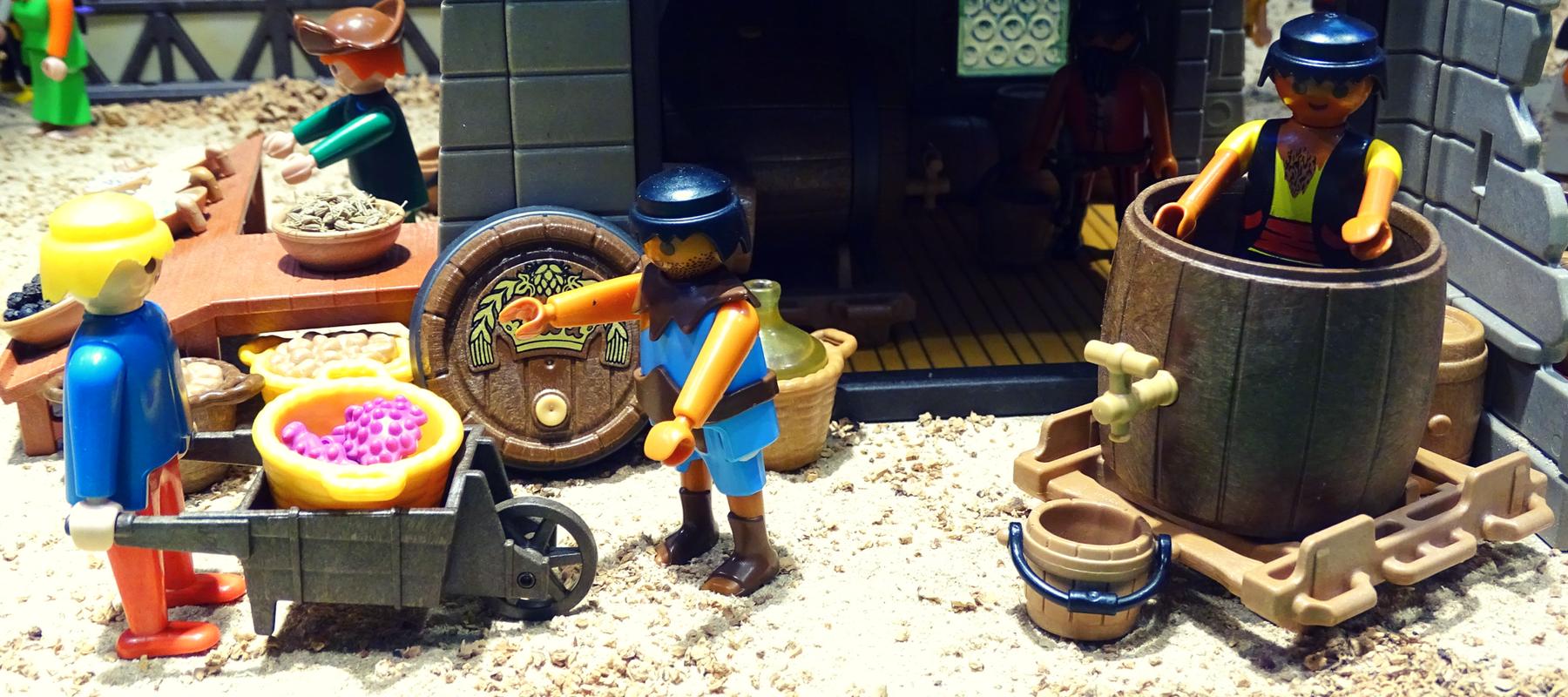 playmobil museo del vino